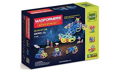 Magformers Super Brain Set (220 Pieces)