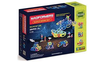 Magformers Super Brain Set (220 Pieces)