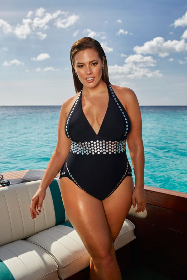 f56bce79b18bb Ashley Graham x swimsuitsforall Heist Swimsuit $208.60 (30% off ...