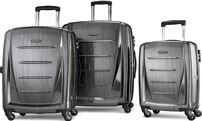 Samsonite Winfield 2 Fashion Hardside 3 Piece Spinner Luggage Set