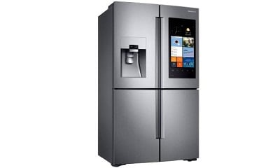 Samsung RF28K9580SR 27.9 cu. ft. Family Hub 4-Door Flex French Door Refrigerator