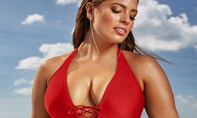 Ashley Graham x swimsuitsforall Secret Agent Siren Swimsuit