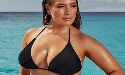 Ashley Graham x swimsuitsforall Espionage Black Bikini
