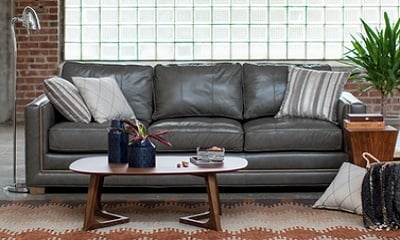 Belham Living Owen Leather Sofa