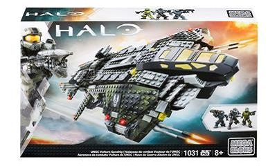 Mattel Mega Bloks Halo UNSC Vulture Gunship