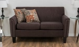 Christopher Knight Home Brookfield Two-Seat Fabric Sofa