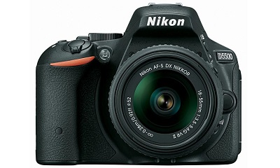 Nikon D5500 DSLR Camera with 18-55mm NIKKOR f/3.5-5.6G VR II Lens