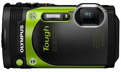 Olympus TG-870 16-Megapixel Waterproof Digital Camera