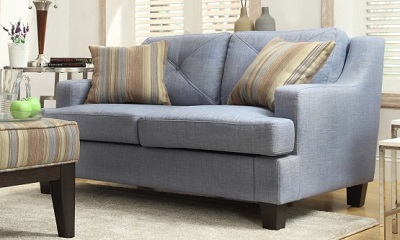 Chelsea Lane Upholstered Loveseat