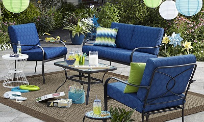 Kmart Bailey 4 Piece Seating Set