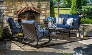 La-Z-Boy Outdoor Kinsley 4 Pc. Seating Set