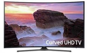 Samsung UN55MU650D 55-Inch 4K UHD Curved Smart LED TV
