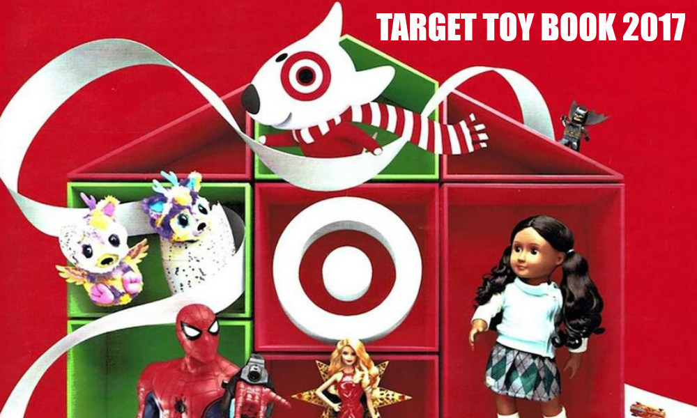 Target Holiday Toy Book
