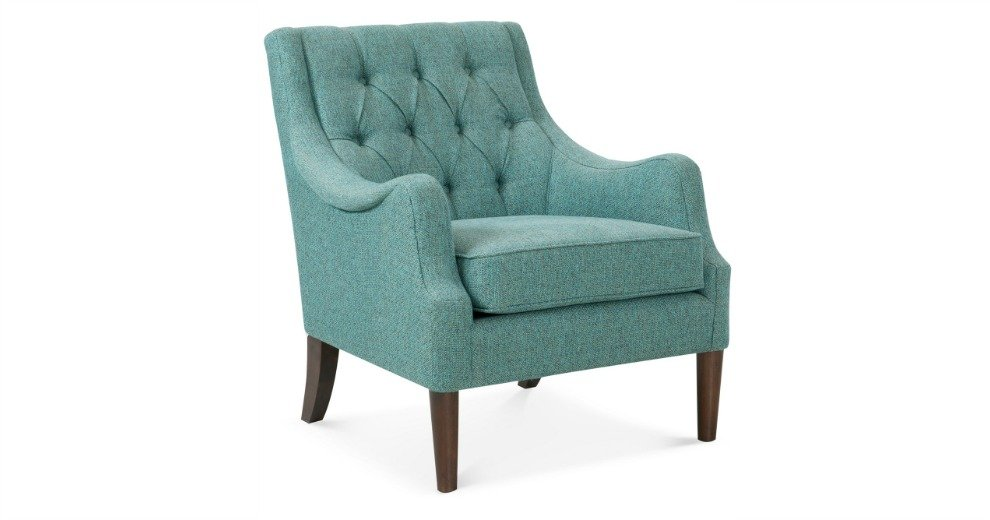 Glenis Tufted Accent Chair 199 53 Off Macy S
