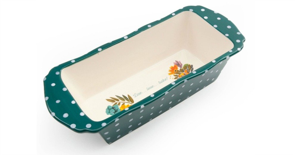 The Pioneer Woman 11 Quot Retro Dots Loaf Pan 6 88 46 Off