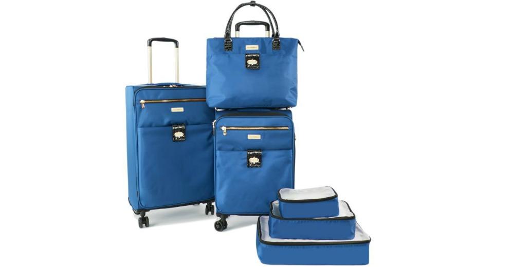 Samantha Brown Luggage Qvc: Samantha Brown 3-Piece Luggage Set $199.99 (23% Off) @ HSN
