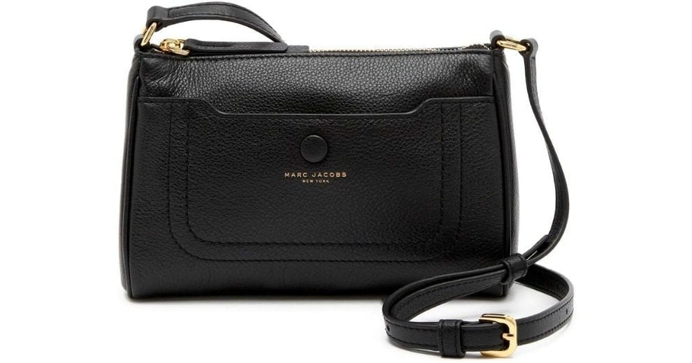 c2d7a58694 Marc Jacobs Empire City Leather Crossbody Bag $129.97 (53% off) @ Nordstrom  Rack