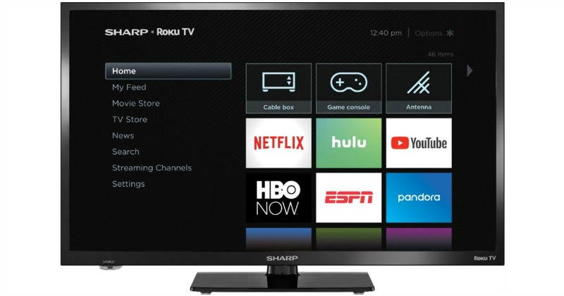 3eed7c9d3 Sharp LC-24LB601U 24-Inch Smart LED HDTV  89.99 (47% off)   Best Buy