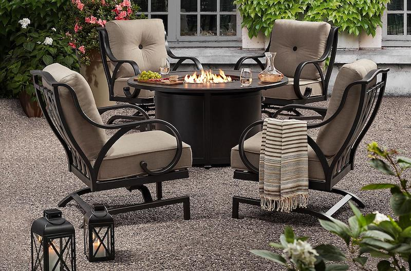 Member S Mark Harbor Hill 5 Piece Fire Chat Set 1 399 27