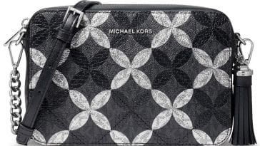 Michael Kors Quilted Floral Camera Bag $78.93 (60% off) @ Macy's