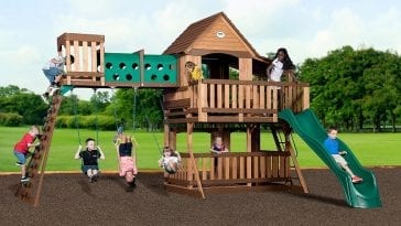 Kidkraft Falcon Ridge Swing Set 1699 32 Off At Sams Club