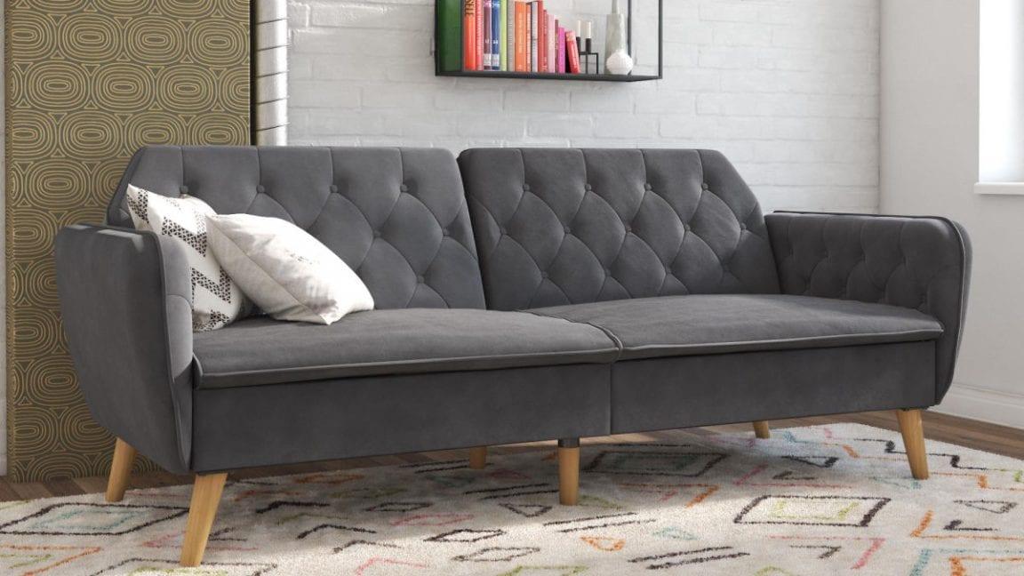 Serta Corey Convertible Futon Sofa Bed $119.99 59 off ...