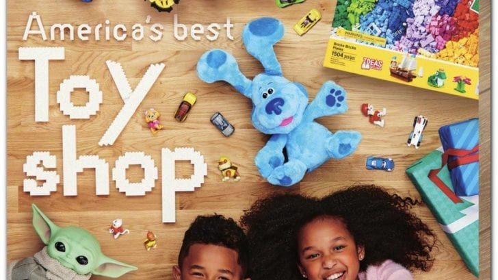Walmart 2020 Holiday Toy Book