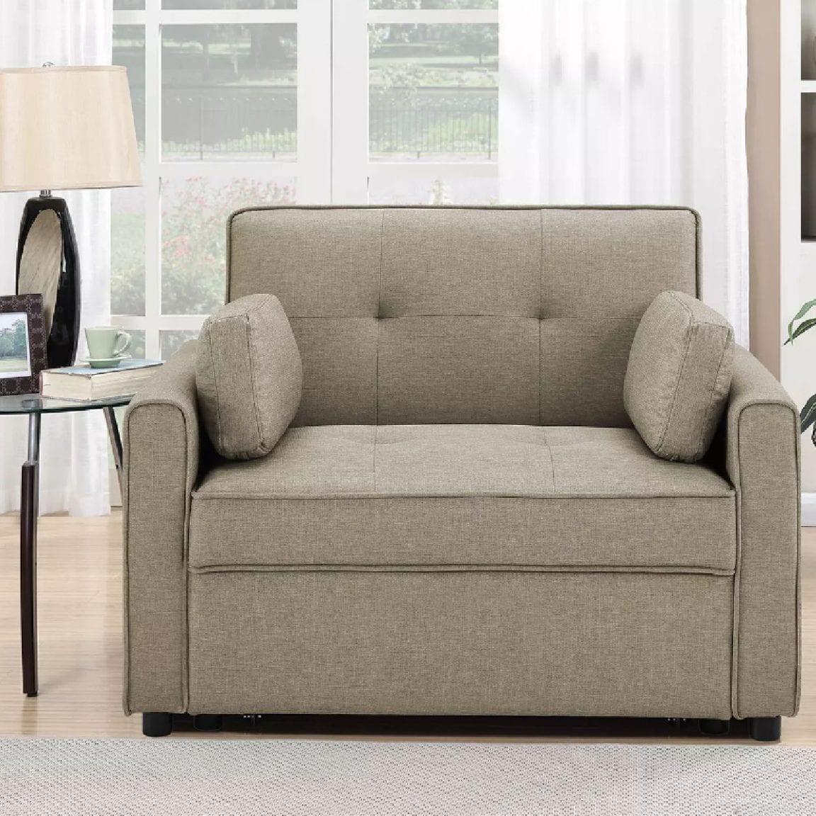 Serta Chloe Twin Pull Out Sleeper Chair $449 25 off ...