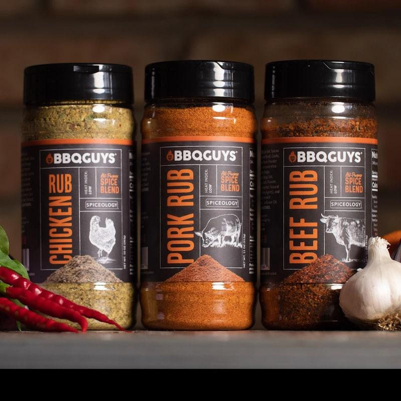 BBQGuys Signature x Spiceology Beef, Chicken, & Pork Rub Variety Pack