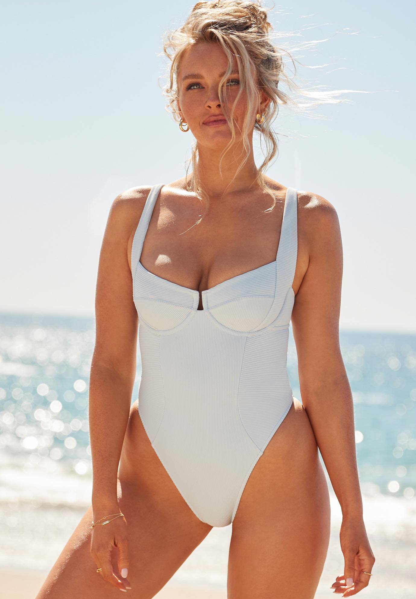 Camille Kostek She's Iconic Underwire One Piece