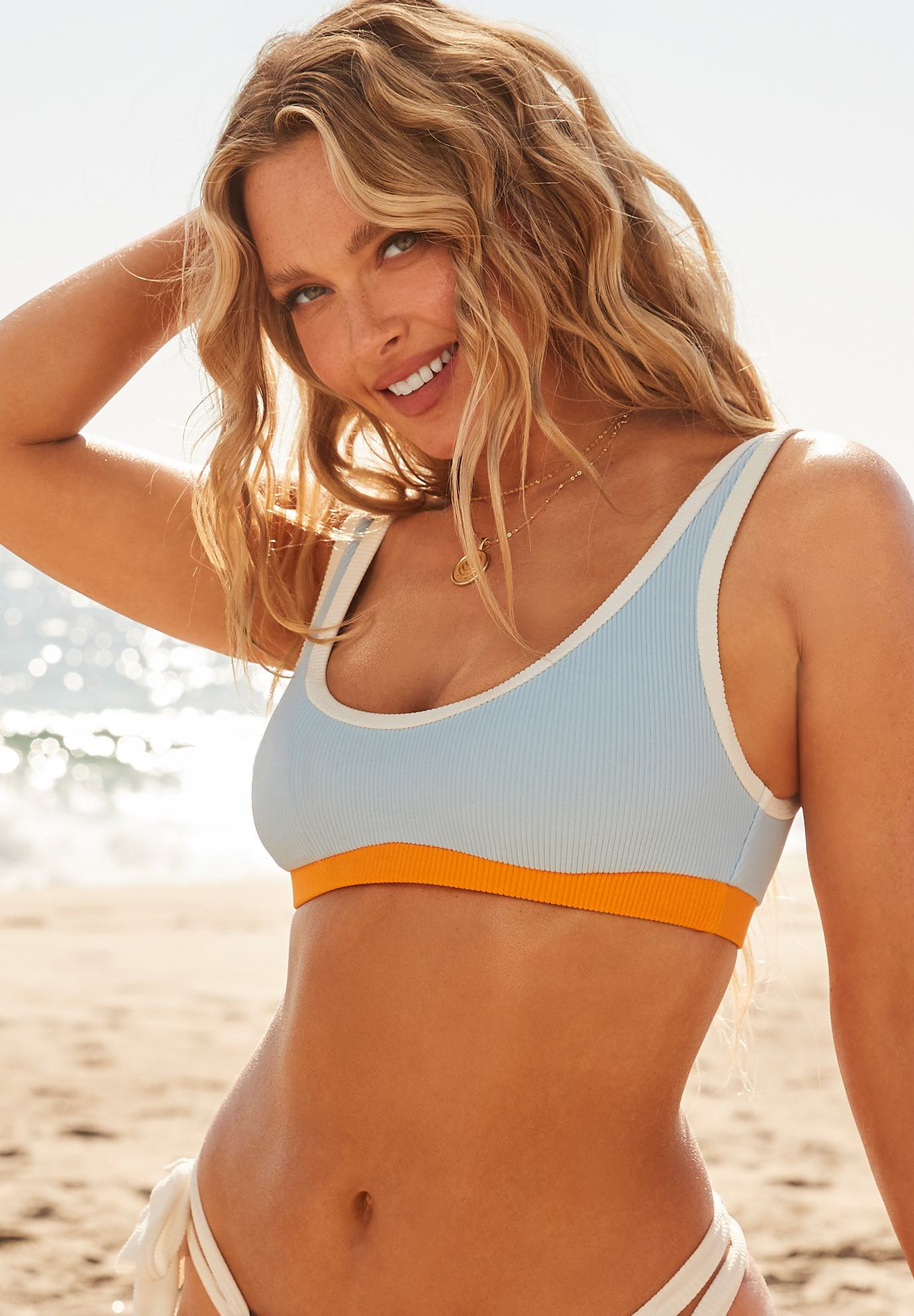 Camille Kostek Sporty Spice Bikini Top