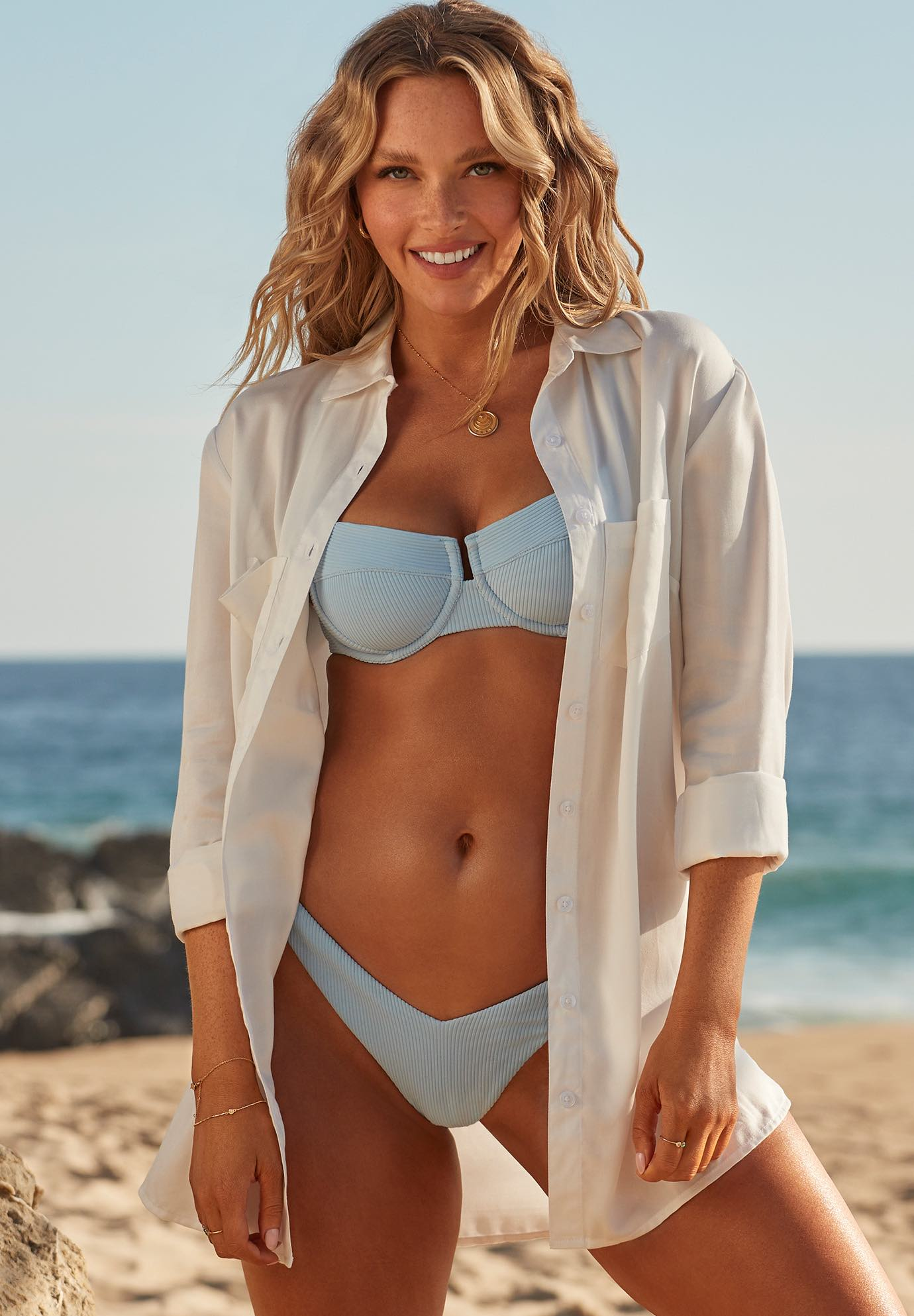 Camille Kostek The Perfect Shirt