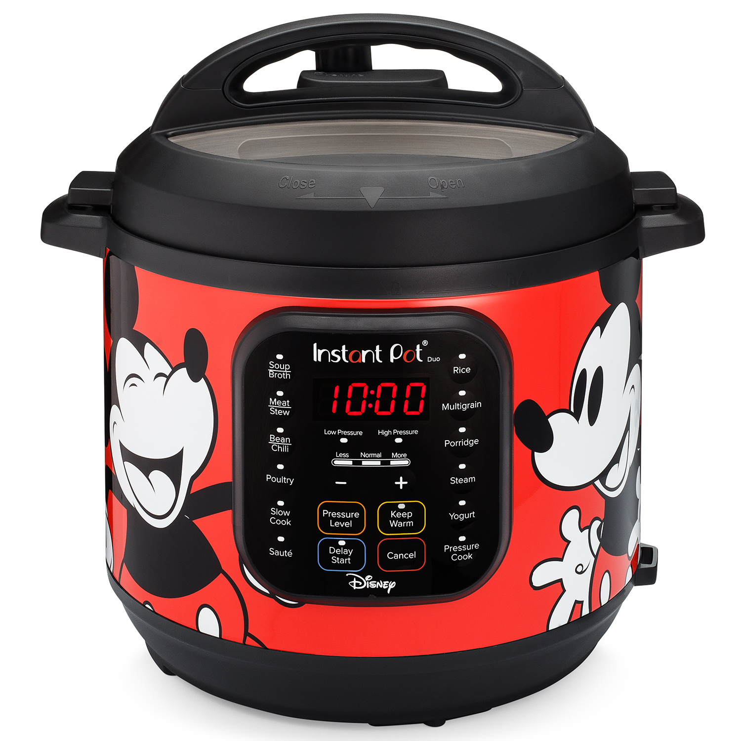 Disney Mickey Mouse 6-Quart Duo Pressure Cooker