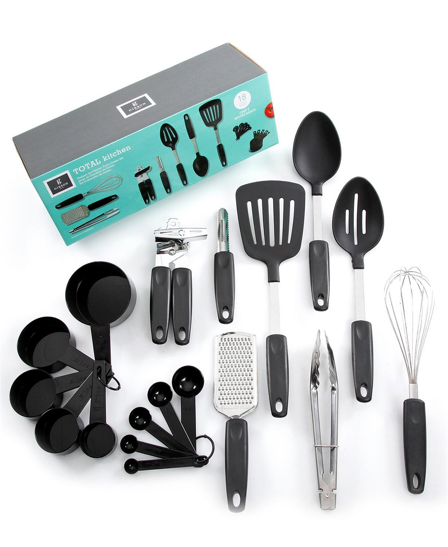 Laurie Gates Home Total Kitchen Chefs Better Basics 18 Piece Gadget Set