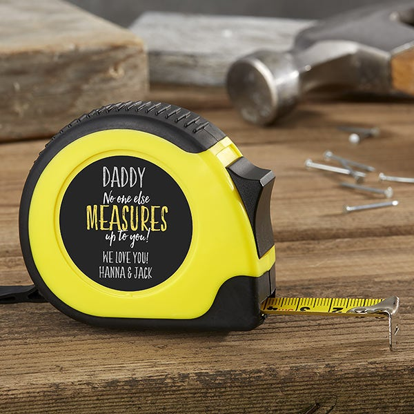 No One Measures Up Personalized Tape Measure