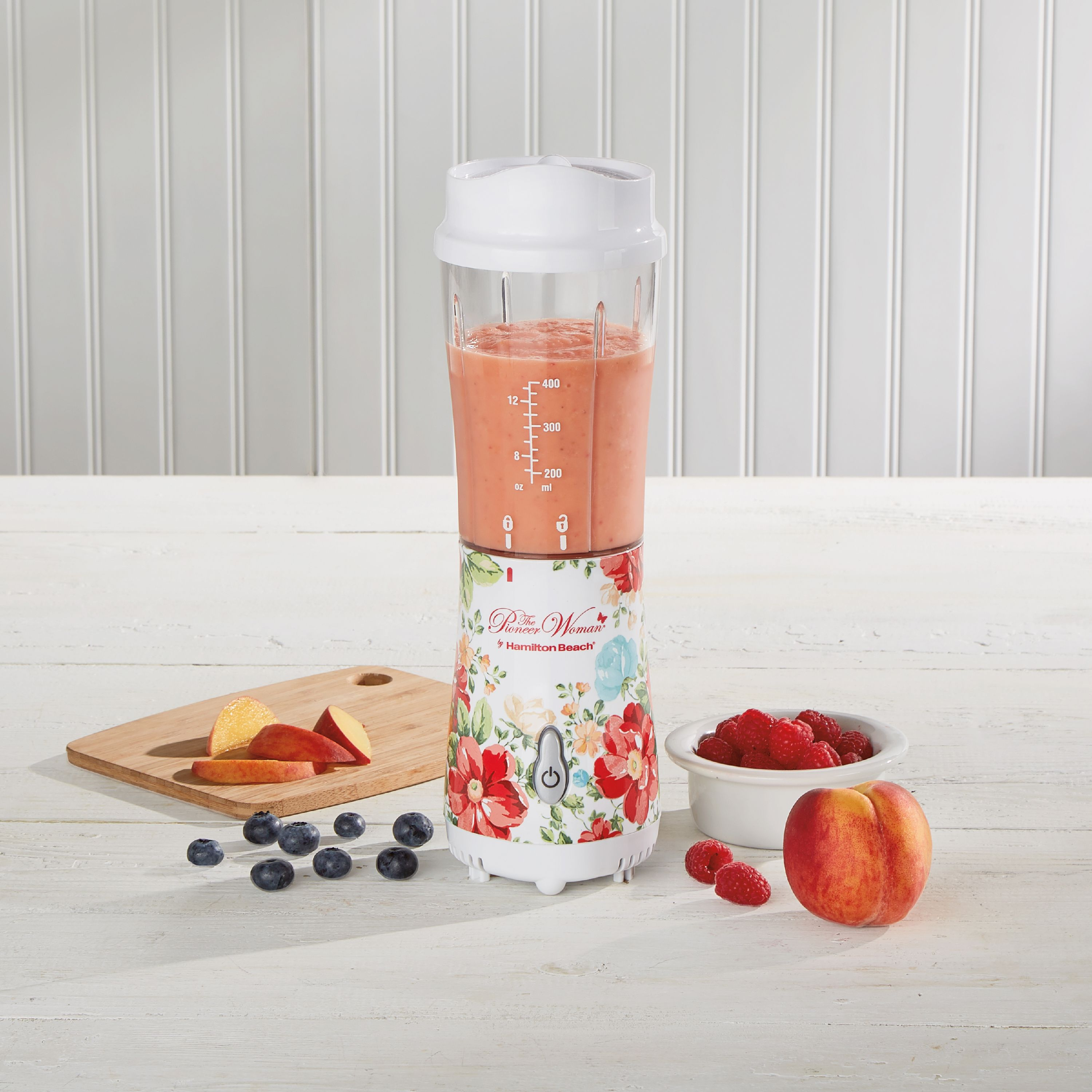 The Pioneer Woman Vintage Floral 14-Ounce Personal Blender